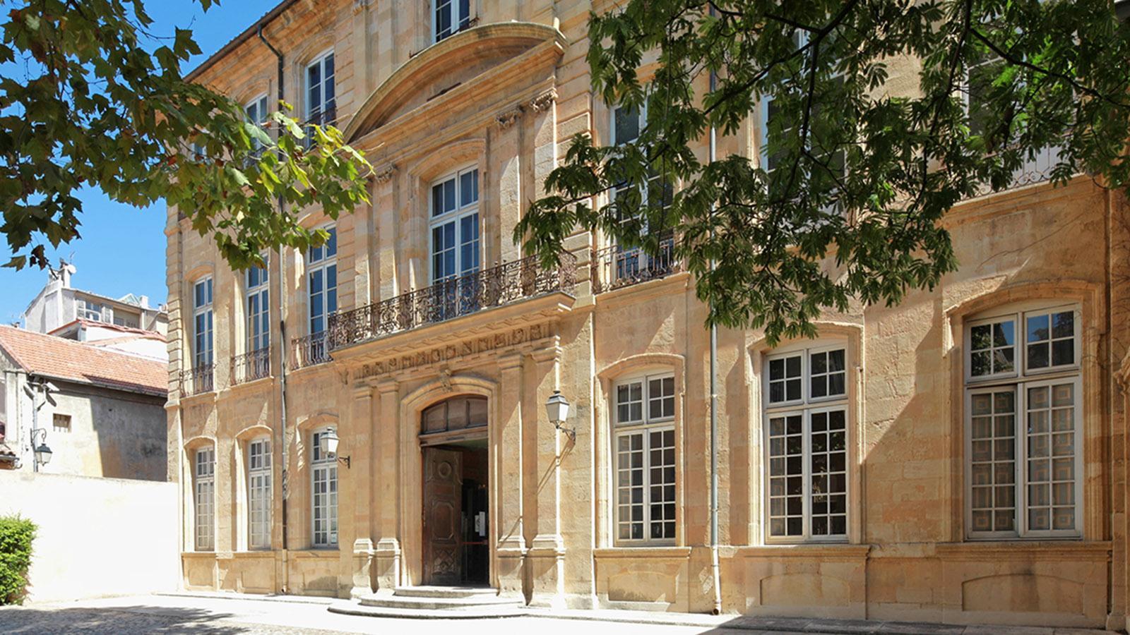 Hôtel Caumont. Foto: Pressebild Office de Tourisme d'Aix/C. Michel