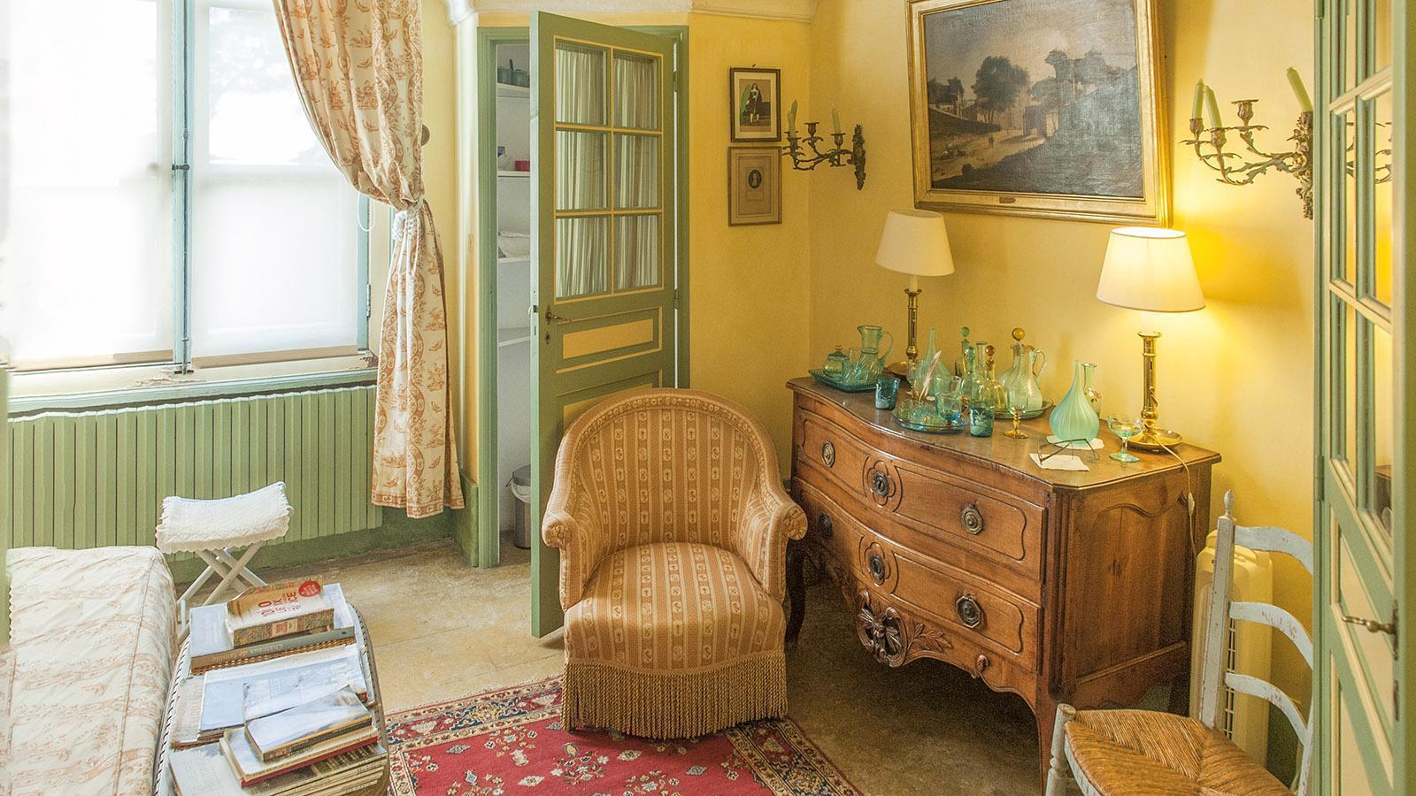 Chateau de Flaugergues: Das Schloss wird noch heute genutzt - daher findet ihr auch Literatur von heute hier. Foto: Hilke Maunder