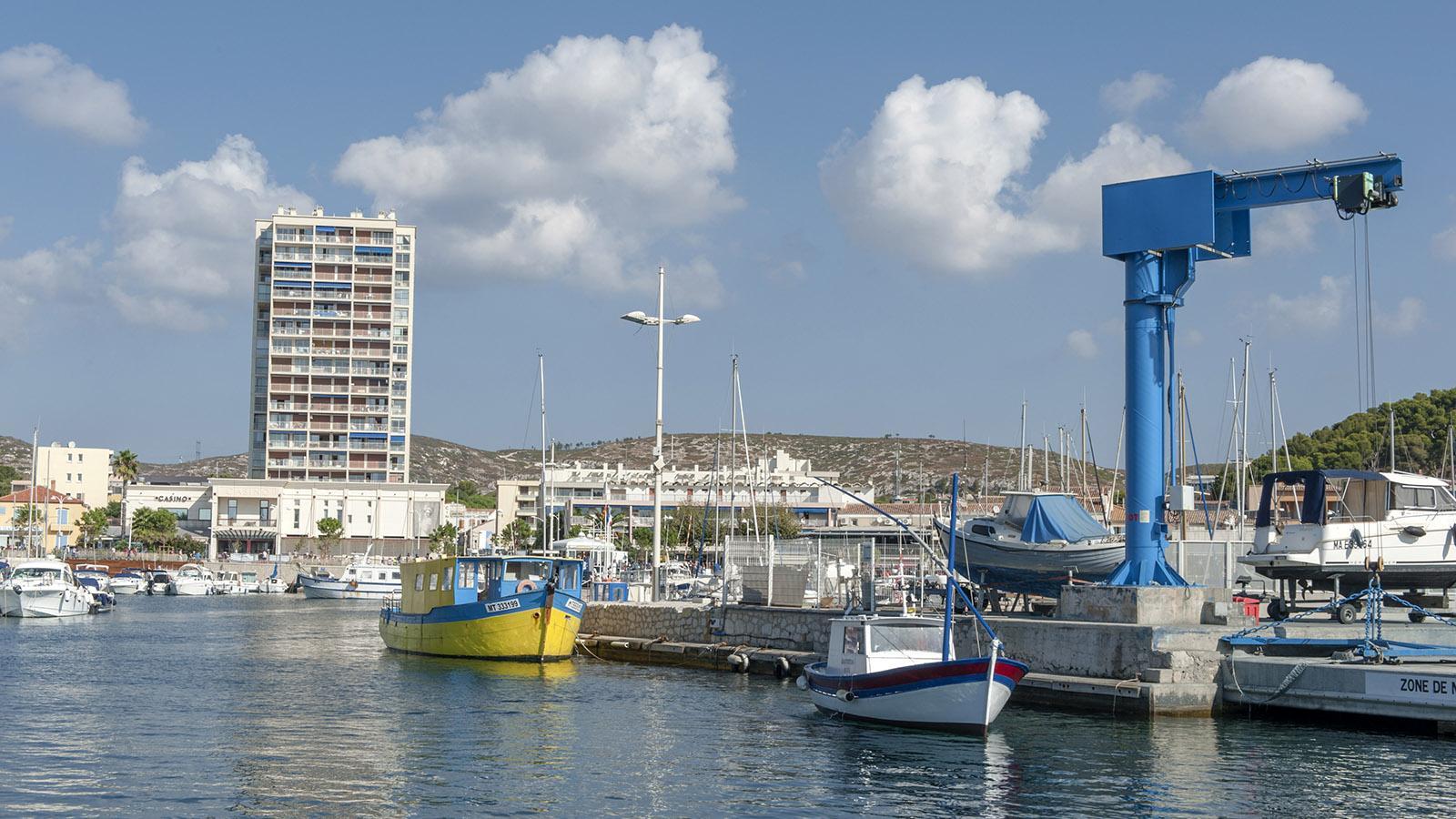 Der Hafen von Carry-le-Rouet an der Côte Bleue. Foto: Hilke Maunder