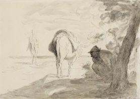 Honoré Daumier  Don Quijote und Sancho Pansa Copyright Staatliche Kunsthalle Karlsruhe