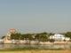 Blick auf Talmont-sur-Gironde von der Klippe von Caillaud. Foto: Hilke Maunder