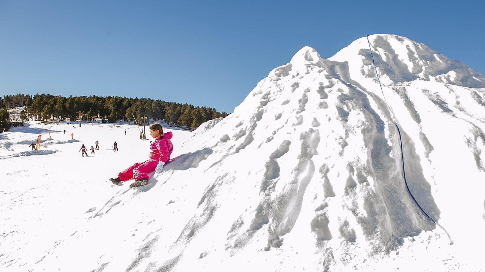 Pyrénées-Orientales: La Quillane. Mont-Blanc für den Nachwuchs... Foto: Hilke Maunder