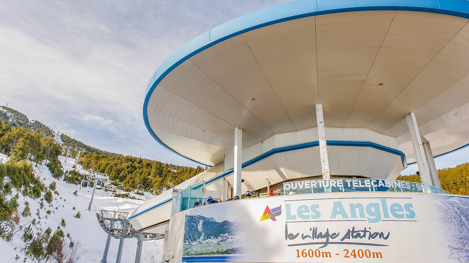 Pyrénées-Orientales: Les Angles, Talstation. Foto: Hilke Maunder