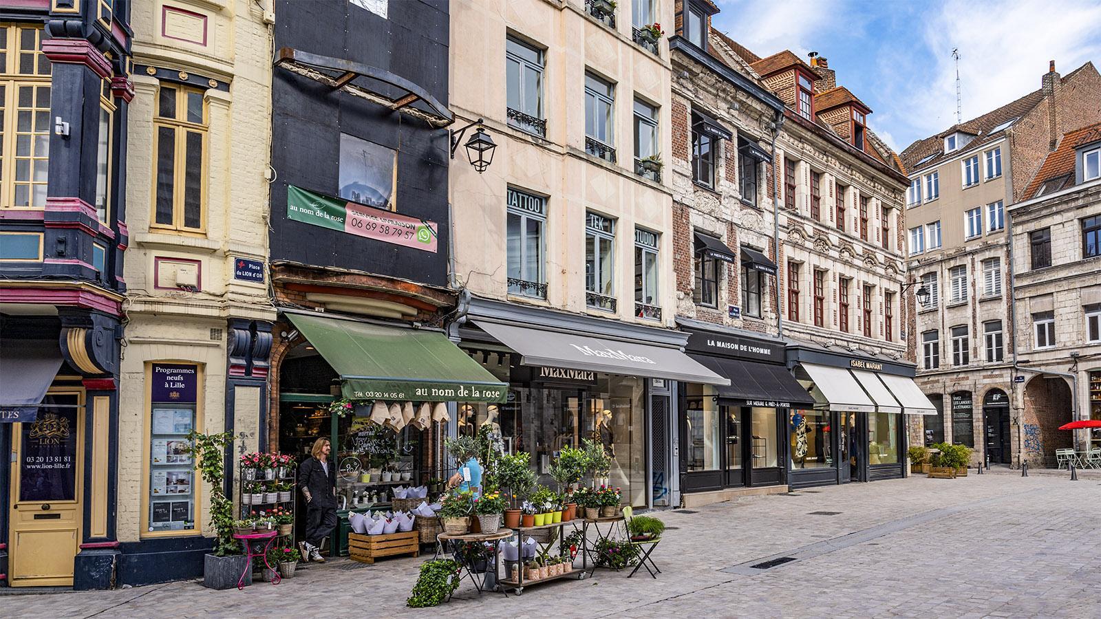 In der Altstadt von Lille. Foto: Hilke Maunder