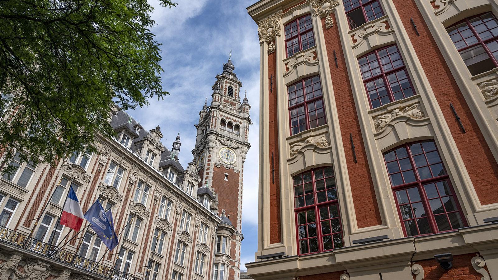 Das Rathaus samt Belfried von Lille. Foto: Hilke Maunder