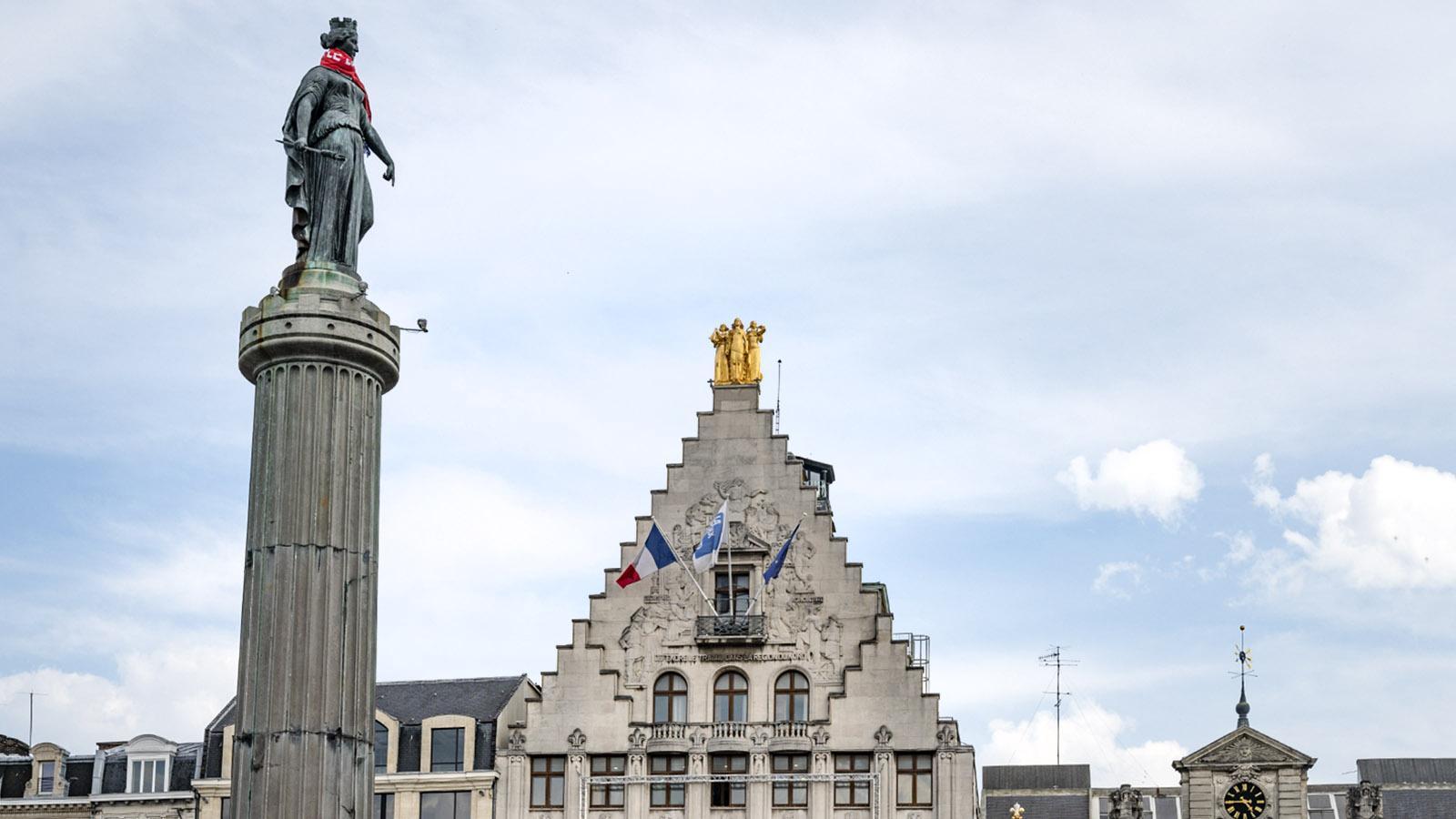Die Grand-Place von Lille. Foto: Hilke Maunder
