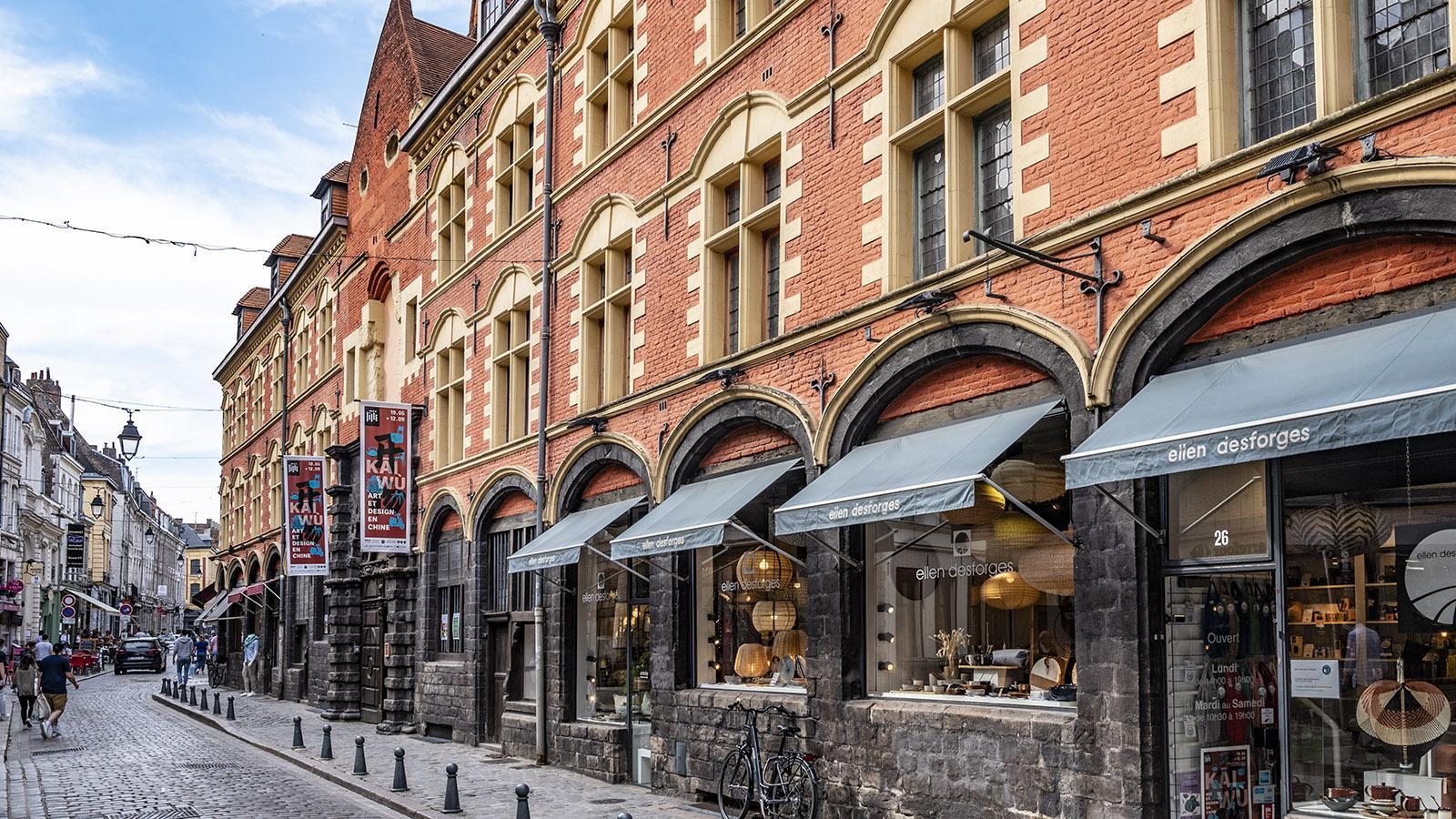 Lille: Das Hospice de la Comtesse in der Rue de la Monnaie. Foto: Hilke Maunder