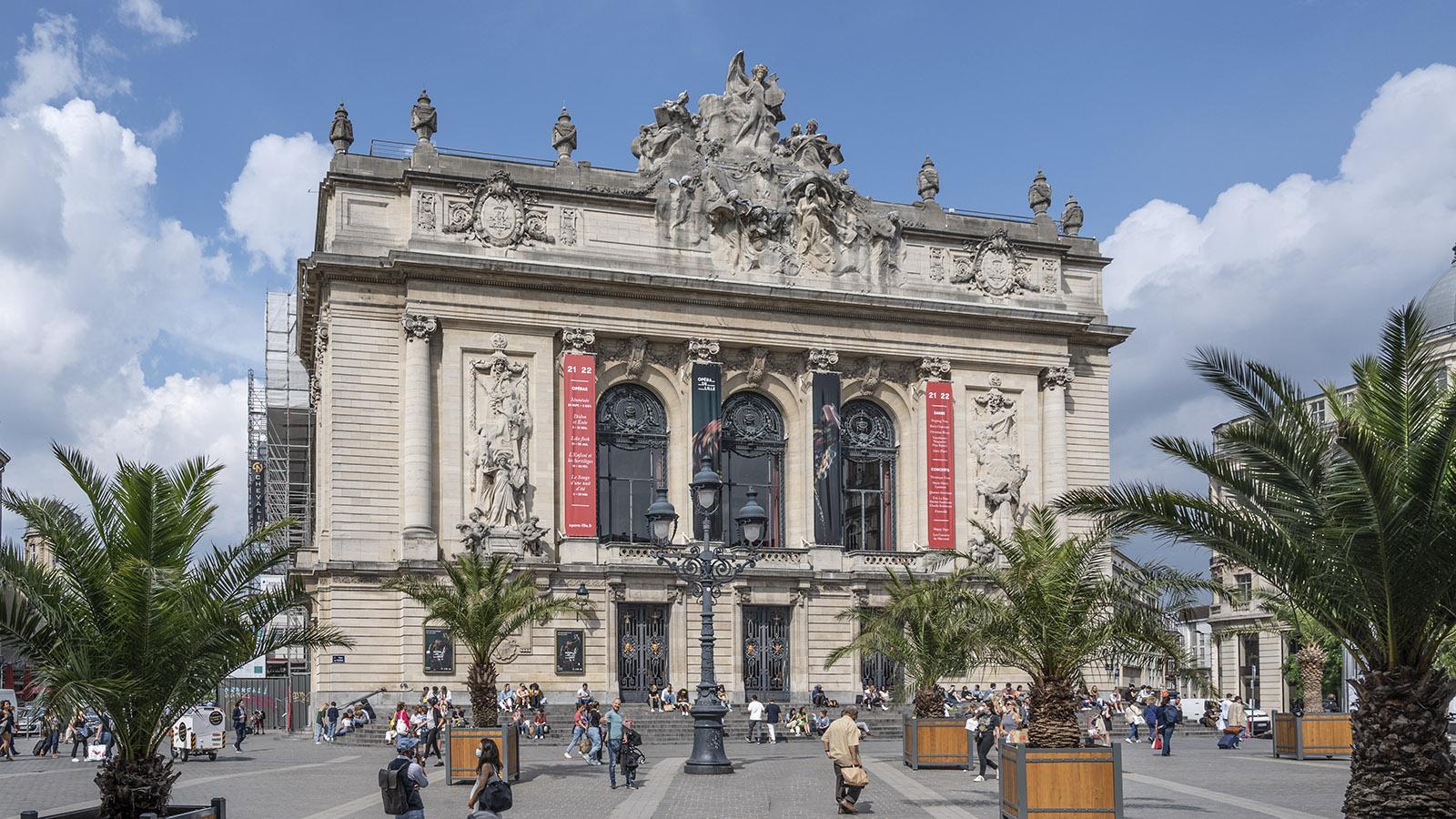 Die Oper von Lille. Foto: Hilke Maunder
