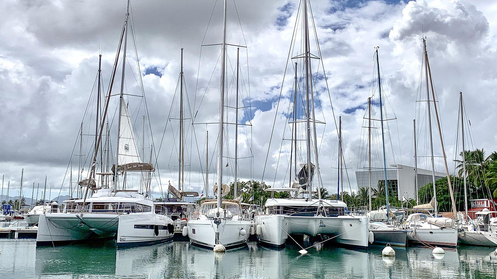 Der Jachthafen von Pointe-à-Pitre. Foto: Hilke Maunder