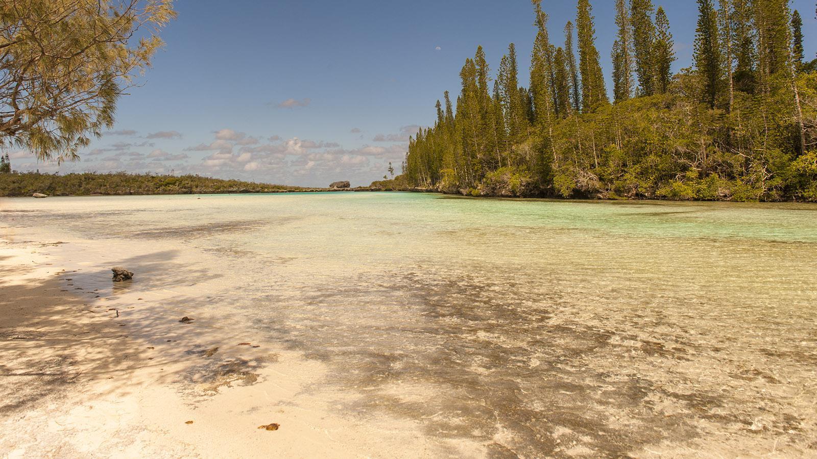 """Die """"piscine naturelle"""" der Île des Pins. Foto: Hilke Maunder"""