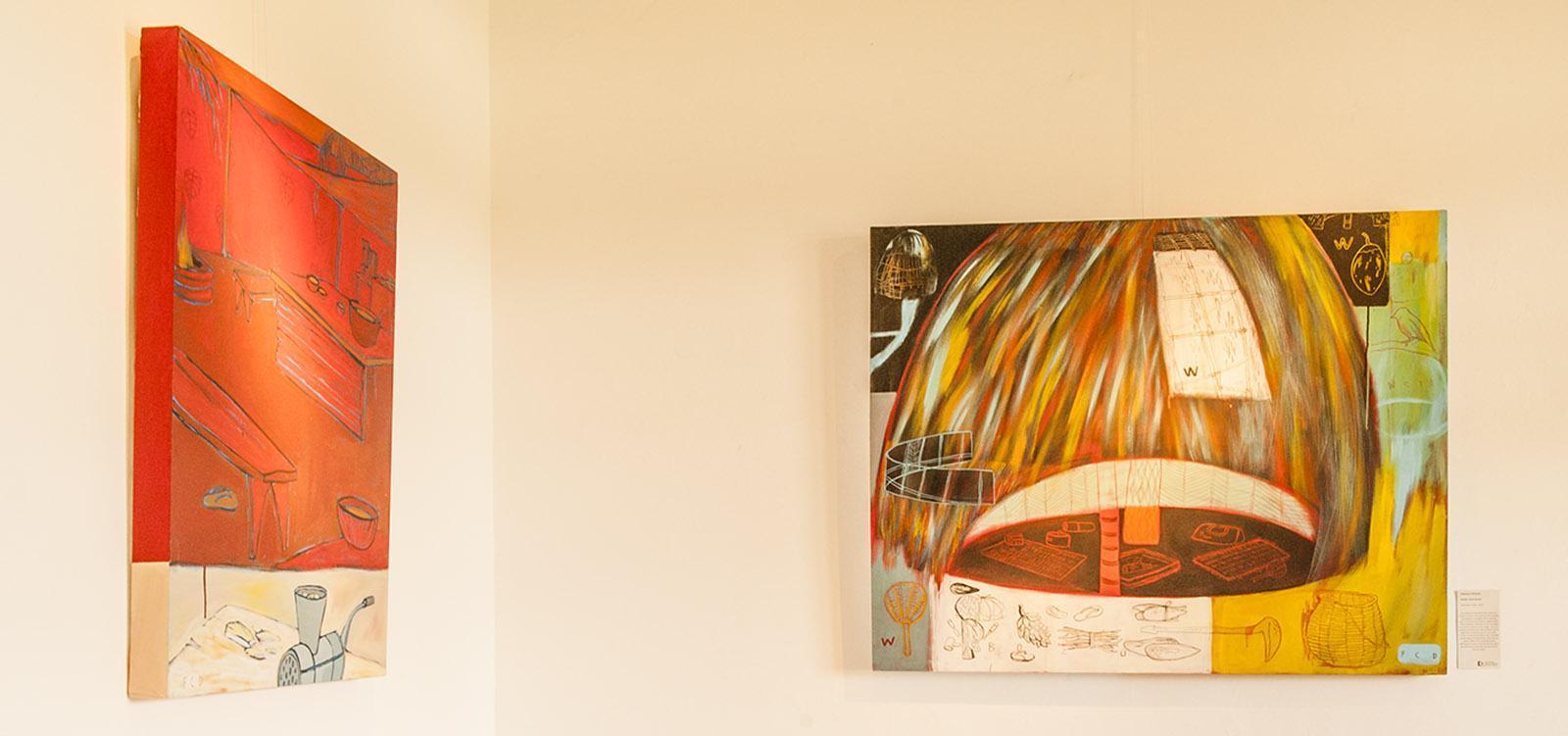 Zeitgenössische Kunst, ausgestellt im Château Hagen, Nouméa. Foto: Hilke Maunder
