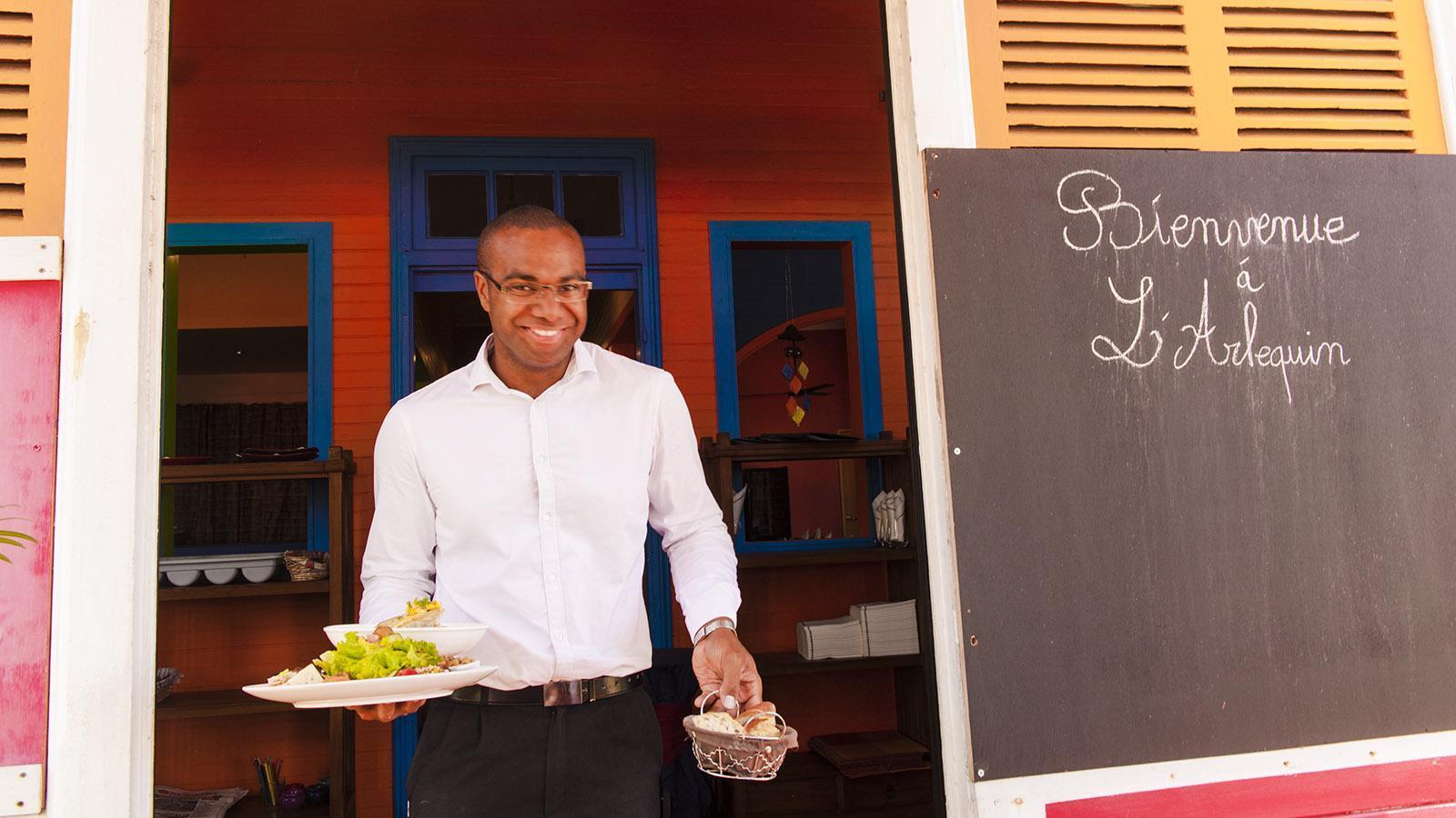 "Nouméa: Boris vom Restaurant ""L'Arléquin"". Foto: Hilke Maunder"