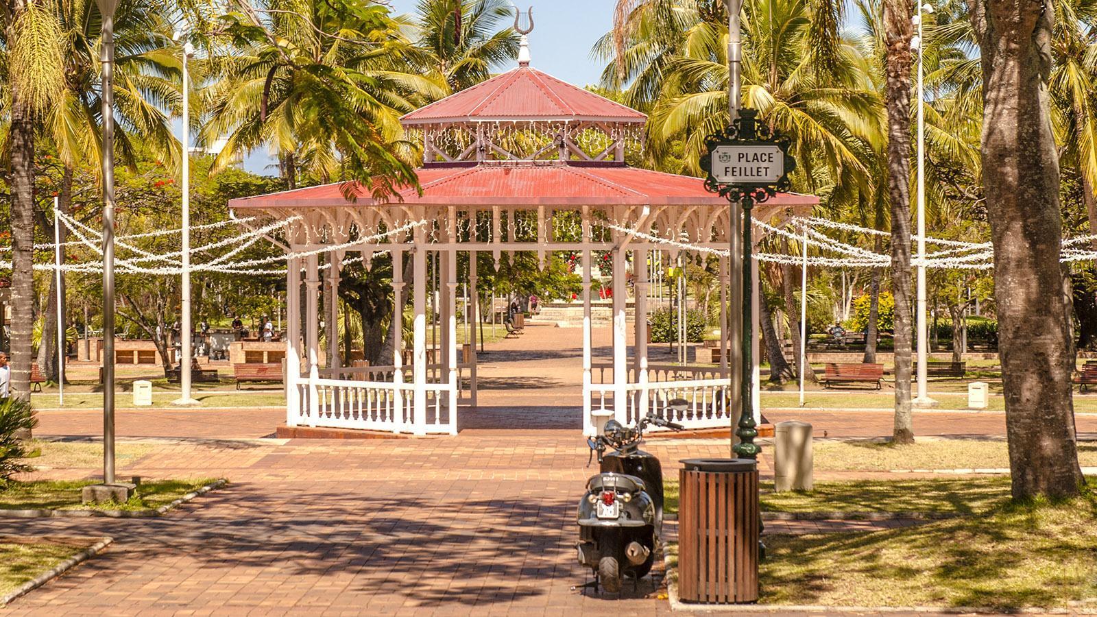 Place Feillet im Herzen von Nouméa. Foto: Hilke Maunder