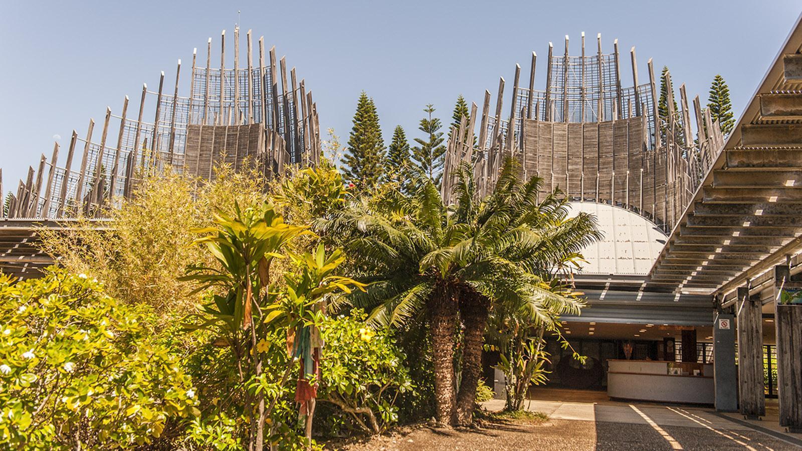 Nouméa: Tjibaou-Kulturzentrum. Foto: Hilke Maunder