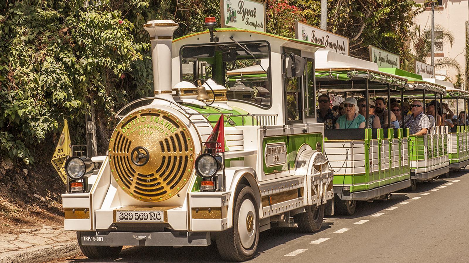 Le Petit Train rollt auch in Nouméa. Foto: Hilke Maunder