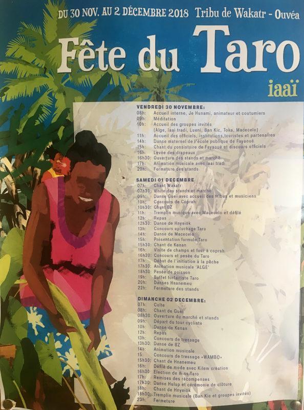 Ende November feiert Ouvéa alljährlich sein Taro-Fest. Foto: Hilke Maunder