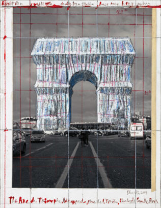 Paris_L'Arc de Triomphe_credits_2019 Christo