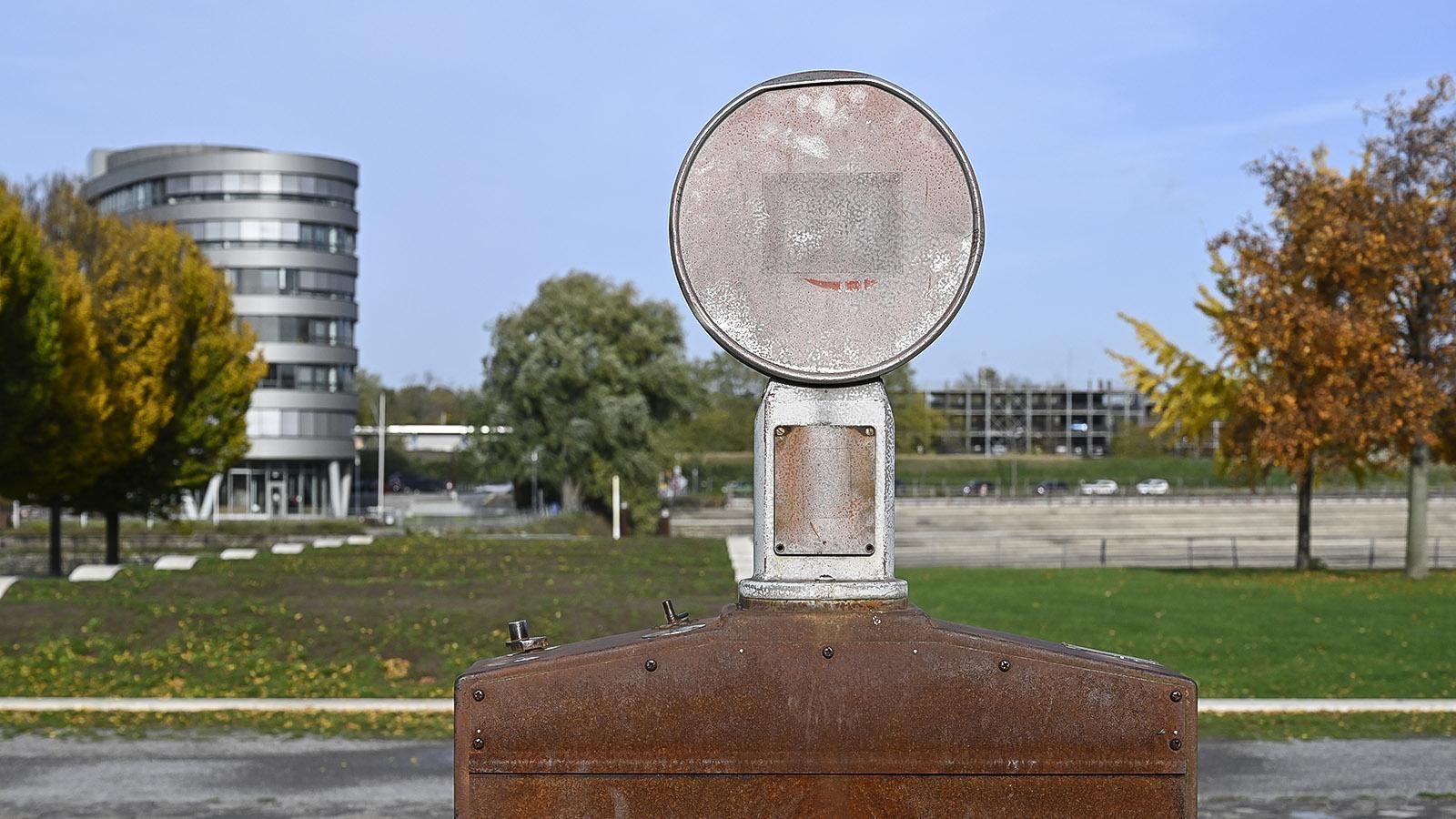 Duisburg: Altes Industrieerbe im Garten der Erinnerung. Foto: Hilke Maunder