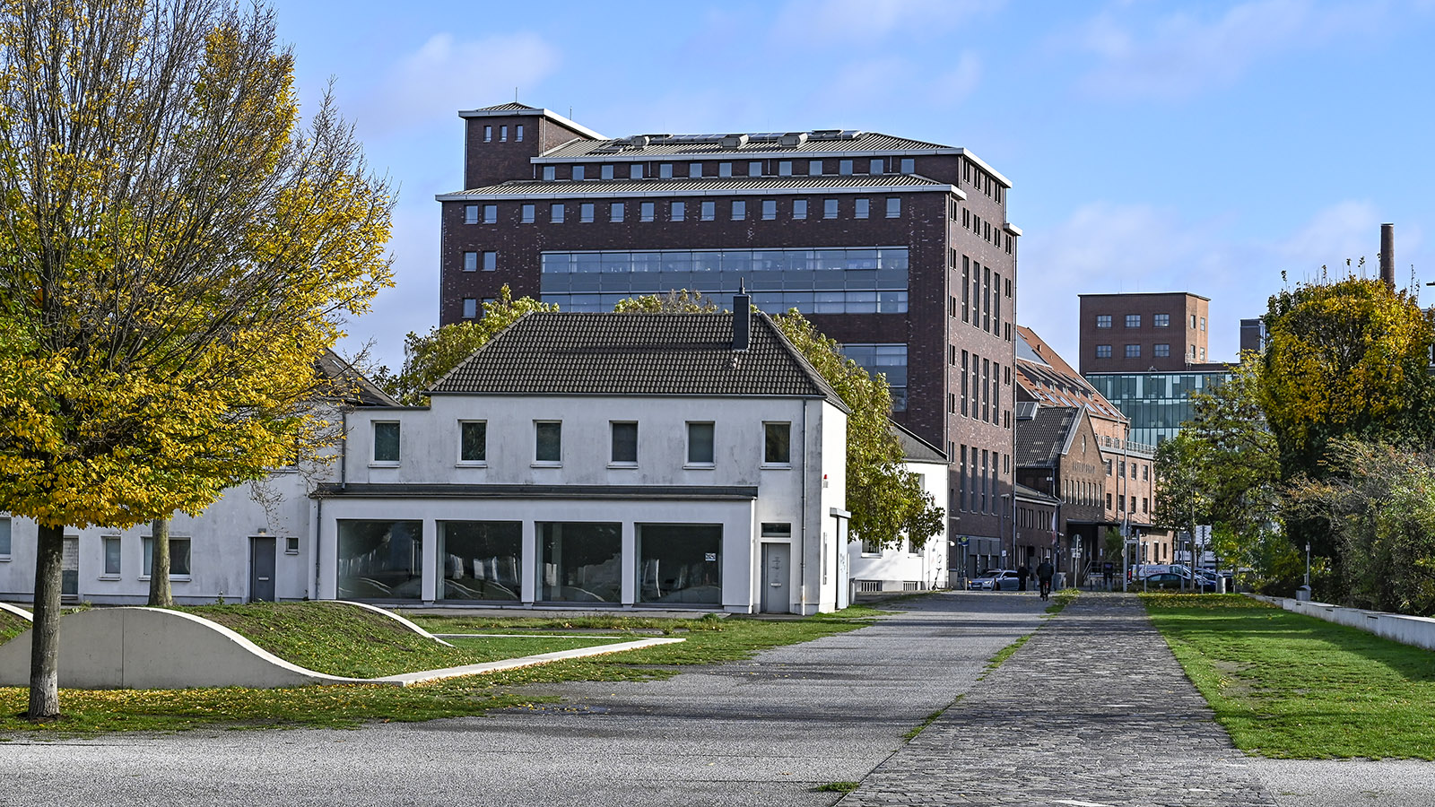 Dusiburg, Innenhafen. Foto: Hilke Maunder