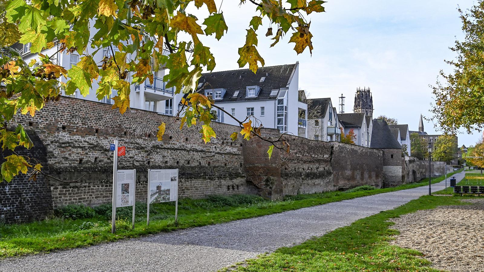 Duisburg, Stadtmauer. Foto: Hilke Maunder
