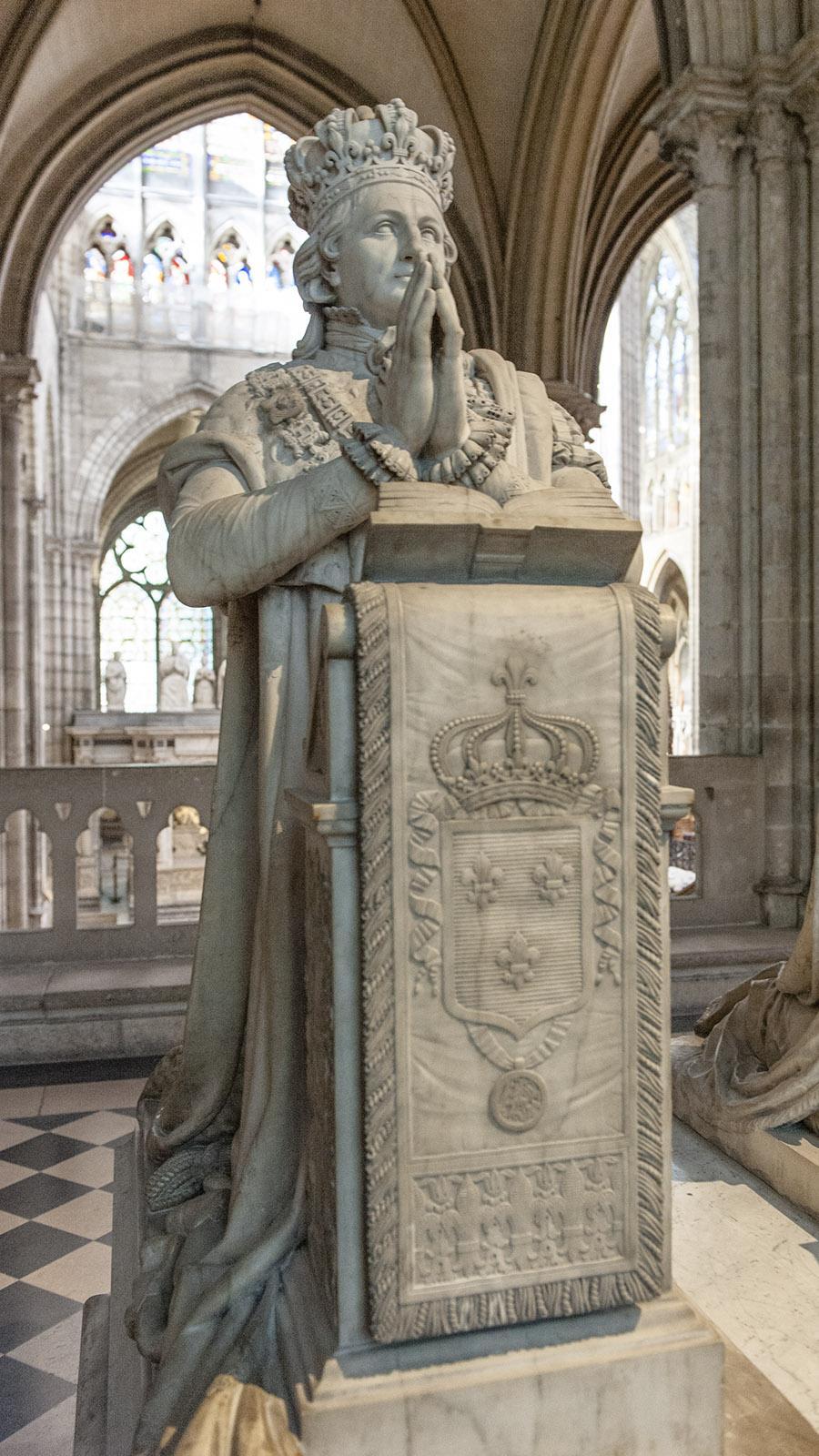 Saint-Denis: Königsgräber. Foto: Hilke Maunder
