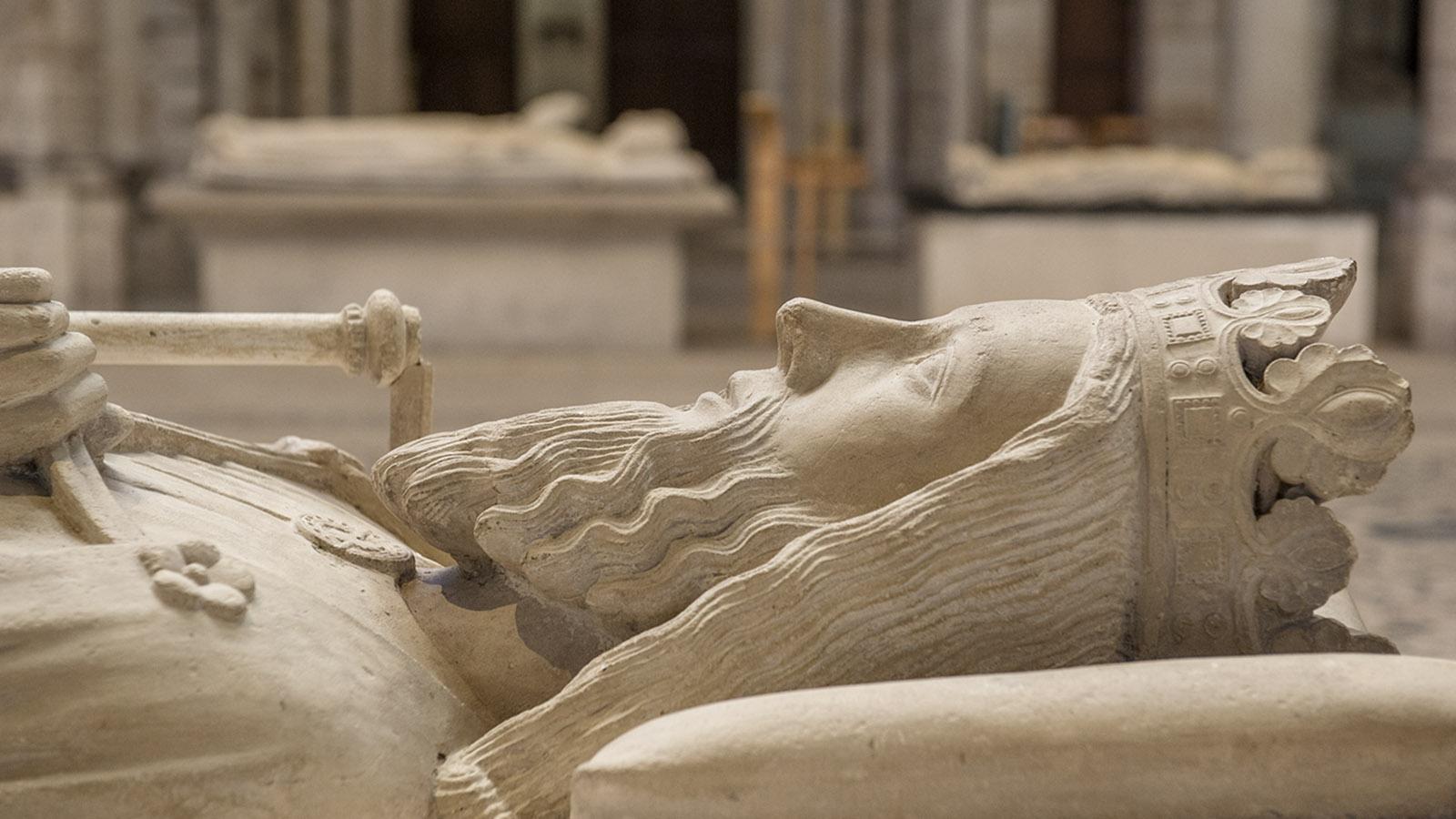 Die Königsgräber von Saint-Denis. Foto: Hilke Maunder