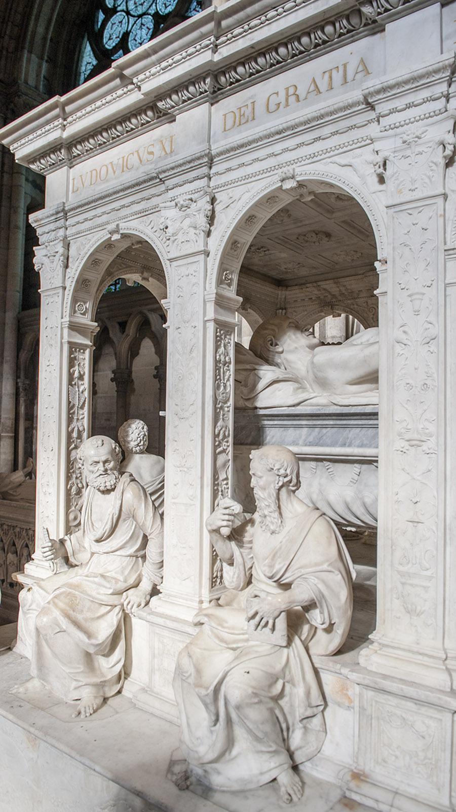 Basilika Saint-Denis: Mausoleum von Anne de Bretagne und Ludwig XII. Foto: Hilke Maunder