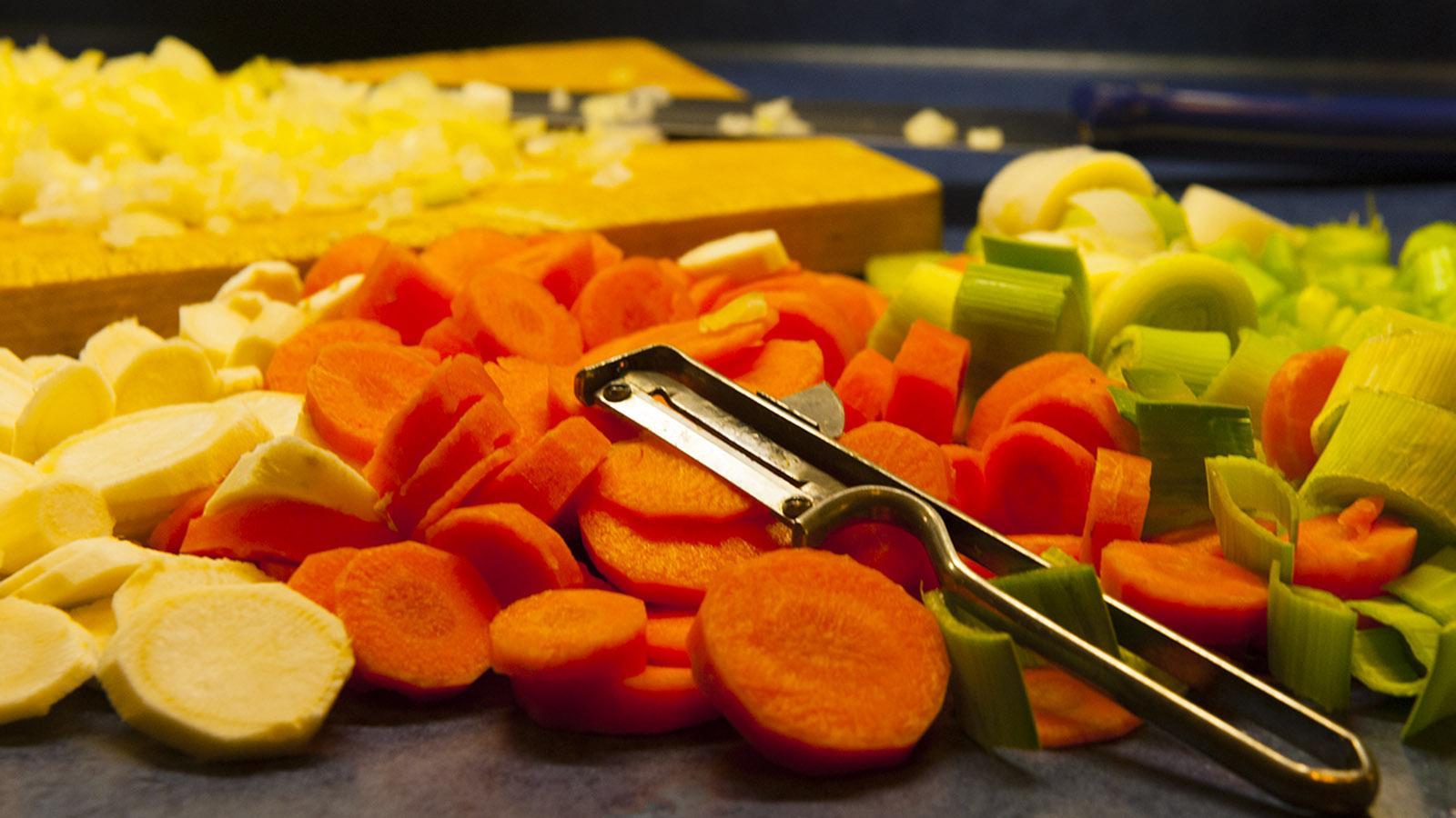 Soupe Savoyarde: Dieses Gemüse wandert in die Wintersuppe! Foto: Hilke Maunder