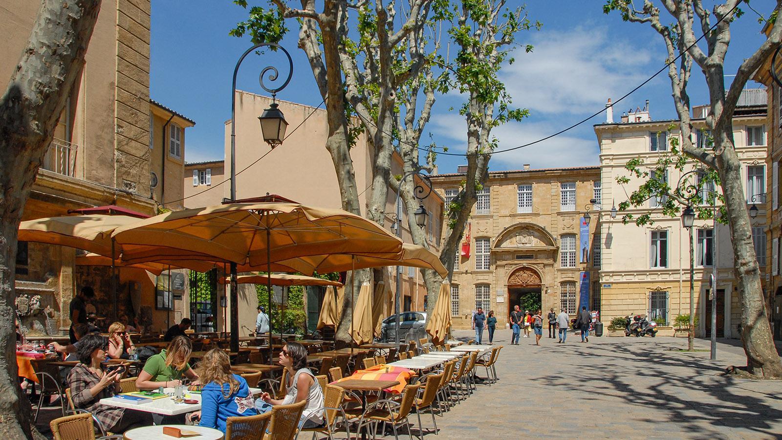 Bei der Place de l'Hôtel de Ville, Foto: Hilke Maunder