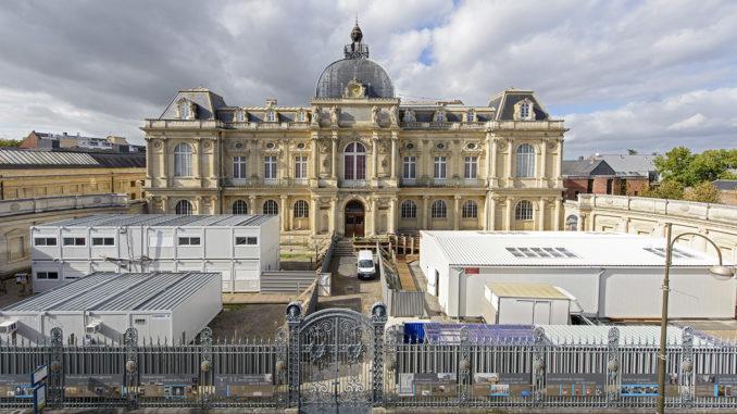 Das Musée de Picardie während der Bauarbeiten im Oktober 2017. Foto: Musée de Picardie/Alice Sidoli (Pressebild)
