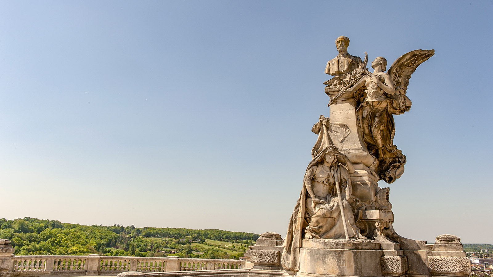 Denkmal in Angoulême. Foto: Hilke maunder