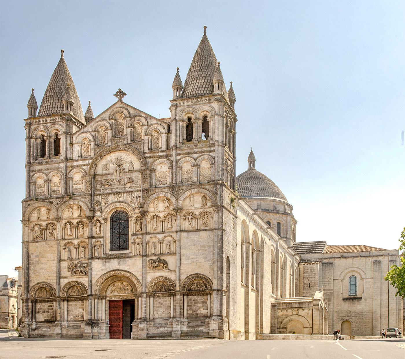 Die Kathedrale von Angoulême. Foto: Hilke Maunder