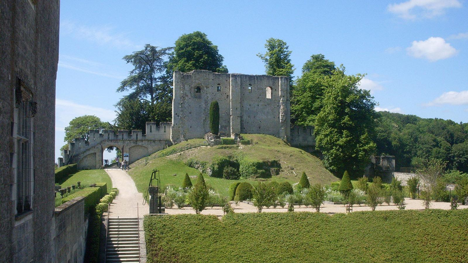 Loiretal: Die Burg von Langeais. Foto: Hilke Maunder