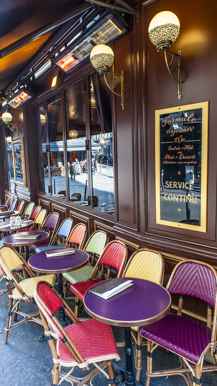 Paris, Bastille-Viertel, Bar. Foto: Hilke Maunder