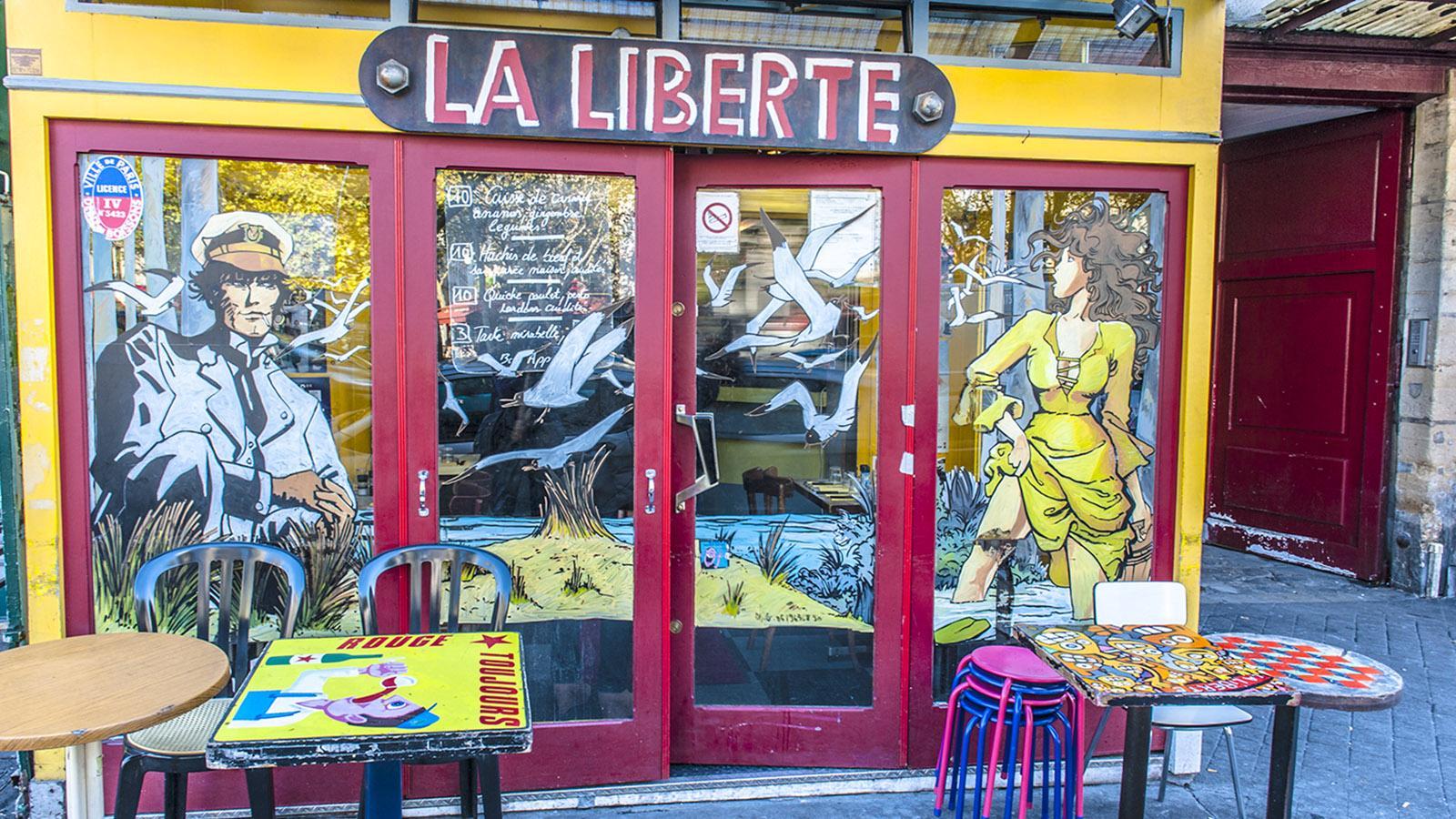 Die Bebauung der Jahrhundertwende an der Rue du Faubourg Saint-Antoine. Foto: Hilke Maunder