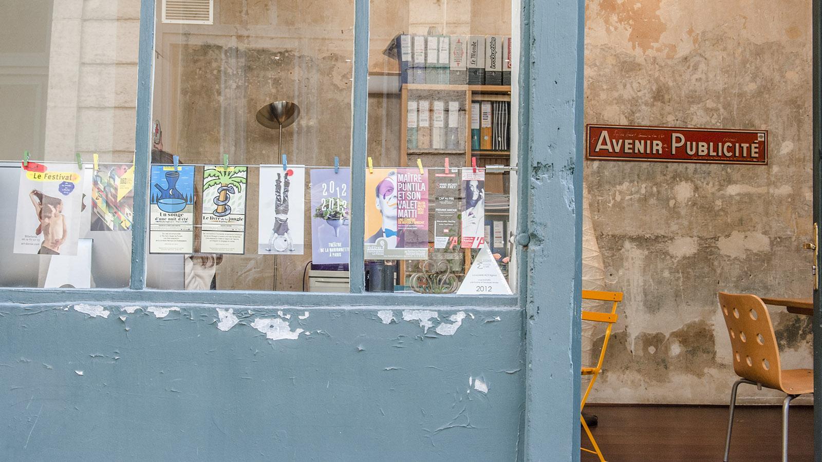 Das kreative Flair der Faubourg Saint-Antoine hat auch Werbeagenturen angelockt. Foto: Hilke Maunder