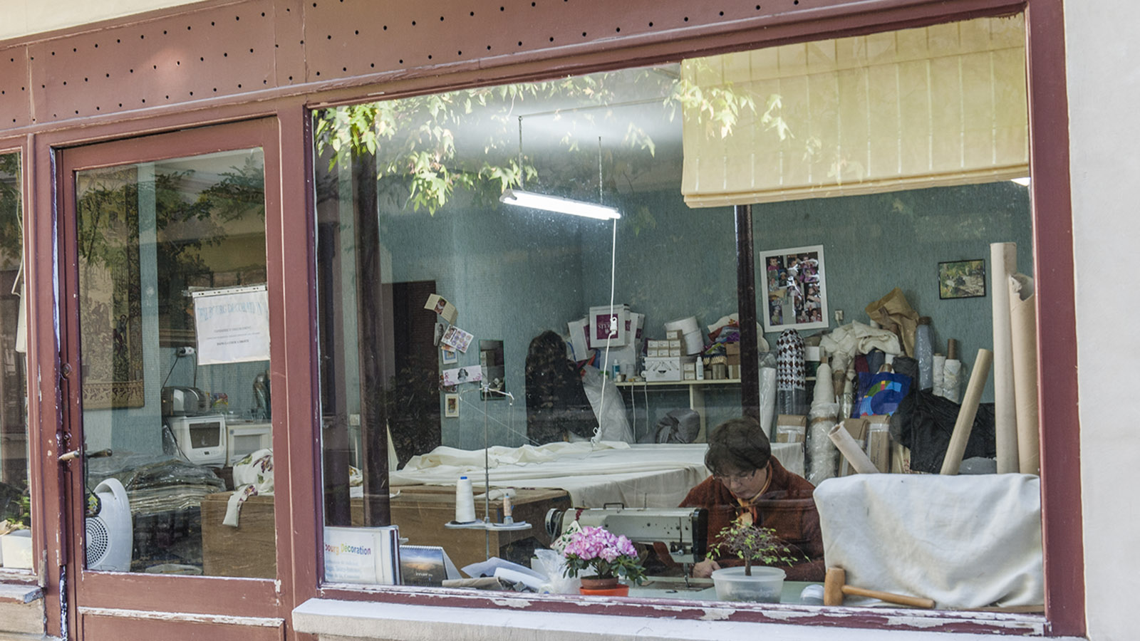 Faubourg Saint-Antoine: die Werkstatt eines Polsterers. Foto: Hilke Maunder