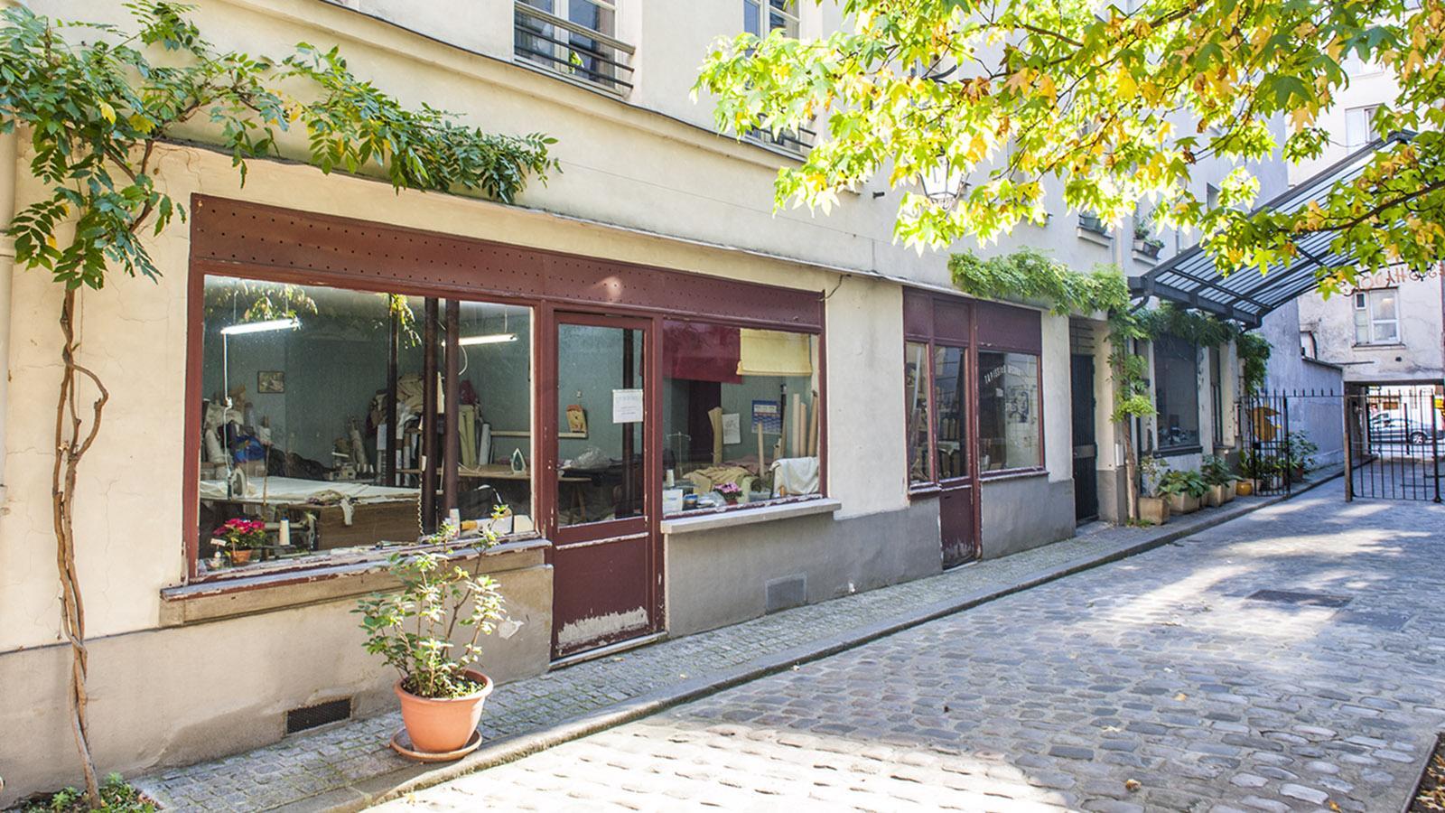 Ein Handwerkerhof der Faubourg Saint-Antoine. Foto: Hilke Maunder