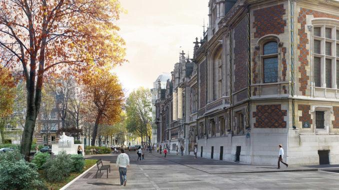 Das Hôtel Gaillard wandelt sich zur Citéco. Credits: Ateliers Lion Associé