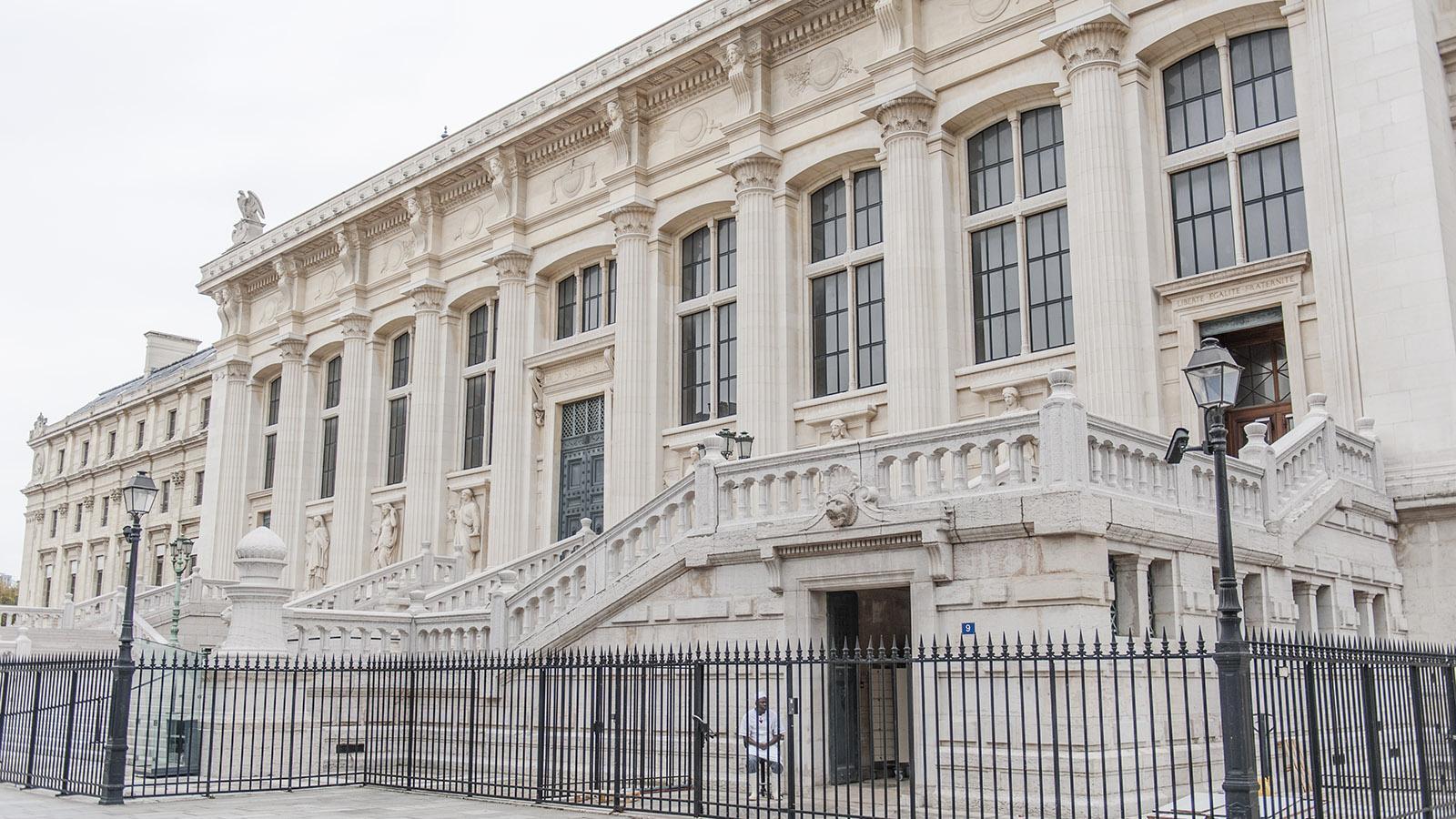 Das frühere Berufungsgericht (Cour d'Appel) auf der ÎLe de la Cité. Foto: Hilke Maunder