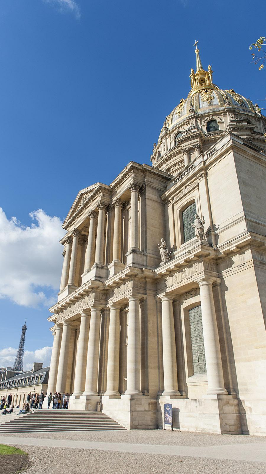 Der bedeutendste barocke Sakralbau Frankreichs: der Invalidendom. Foto: Hilke Maunder