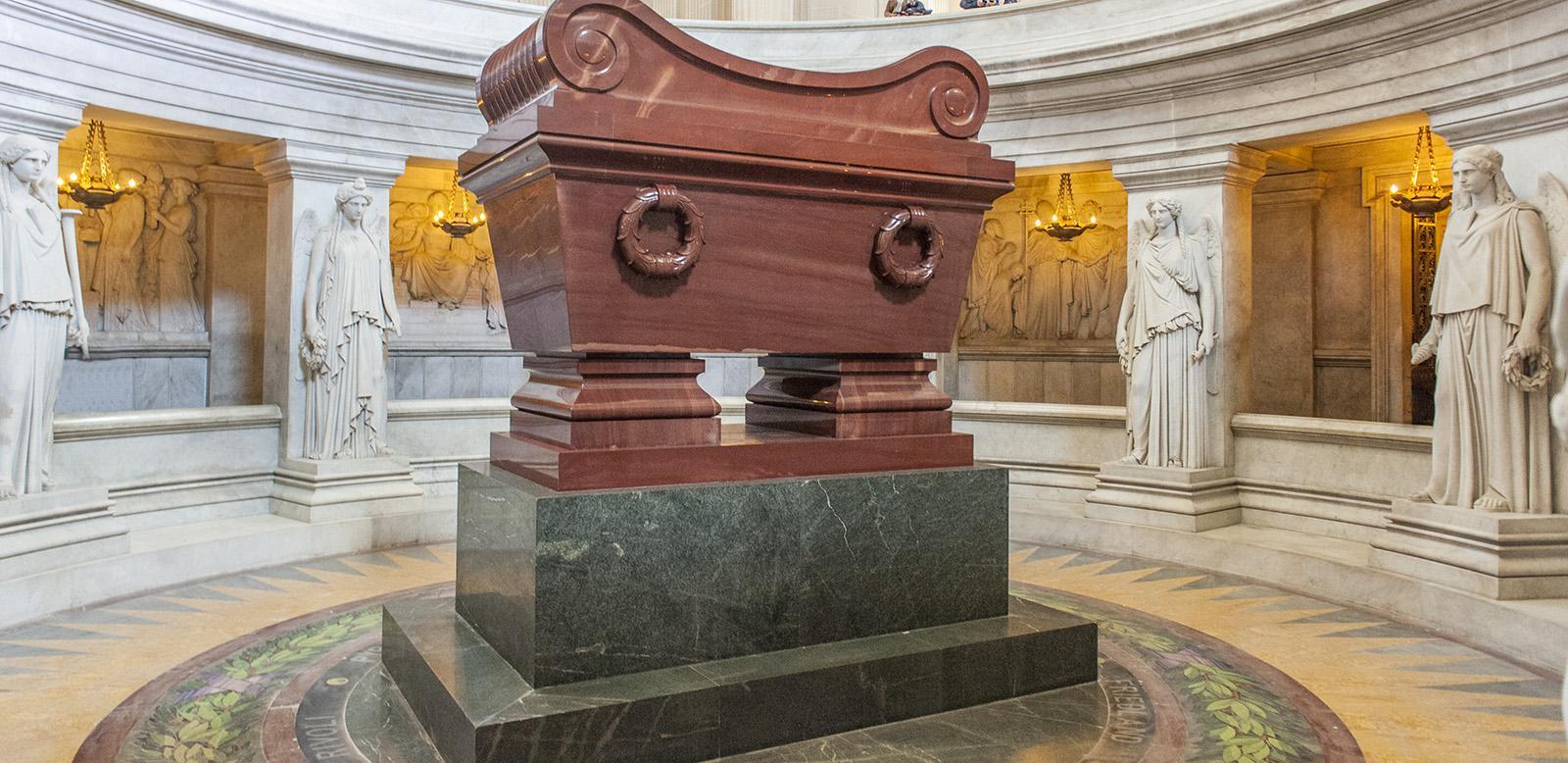Das Grab von Napoleon I. im Invalidendom. Foto: Hilke Maunder