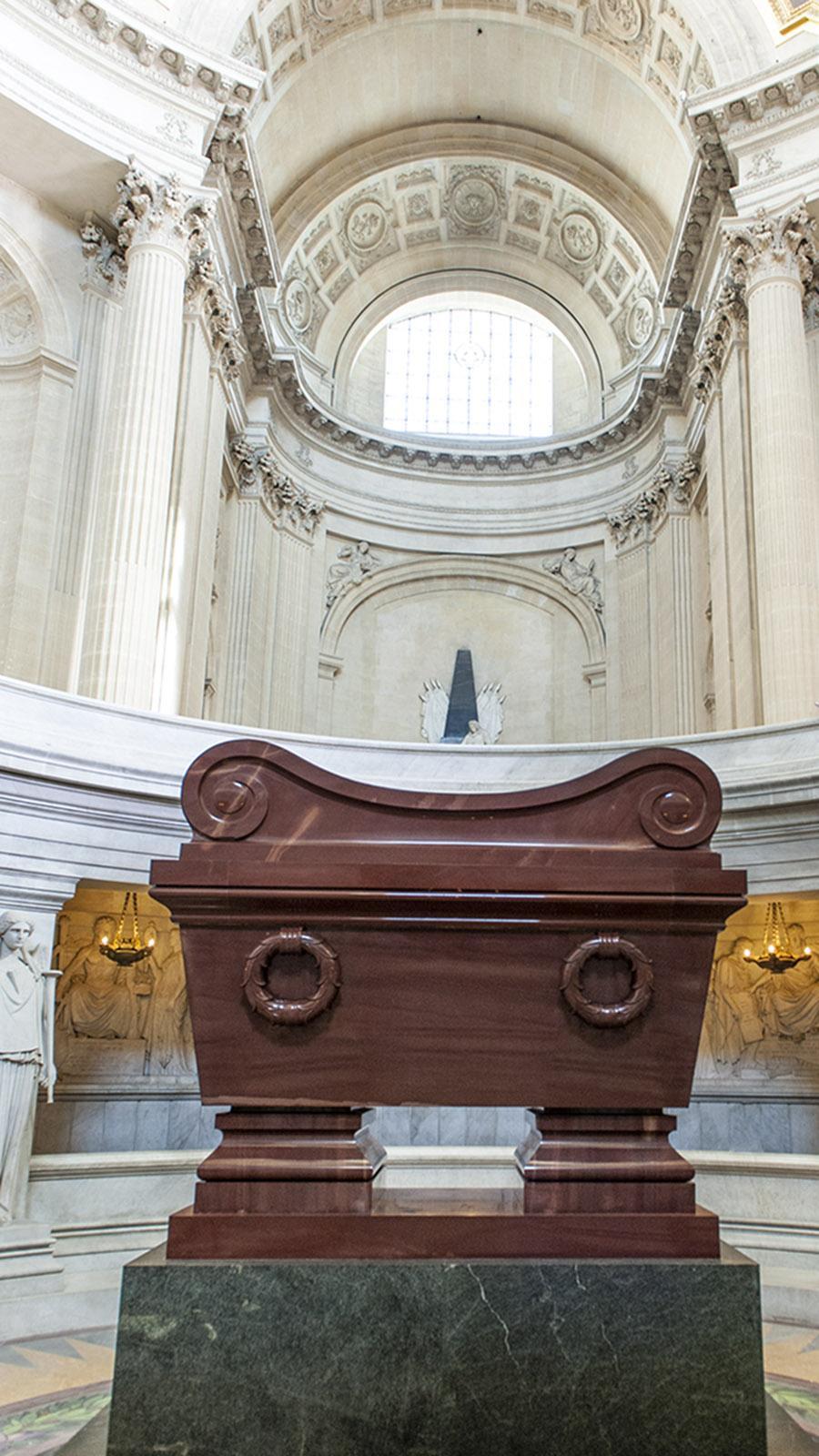 Das Grab von Napoleon im Invalidendom. Foto: Hilke Maunder