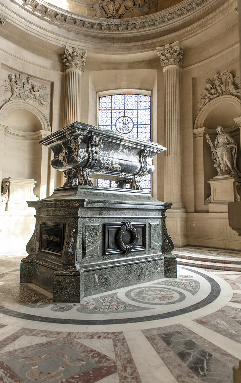 Das Grab von Joseph Bonaparte im Invalidendom. Foto: Hilke Maunder