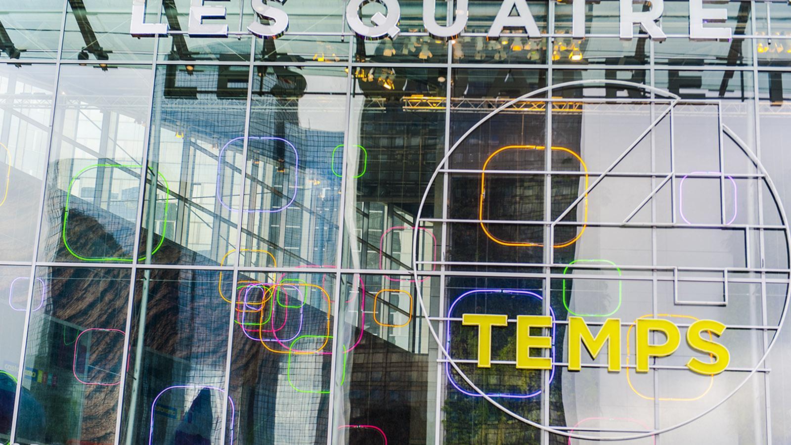 Les 4 Temps - der Shoppingtempel von La Défense. Foto: Hilke Maunder