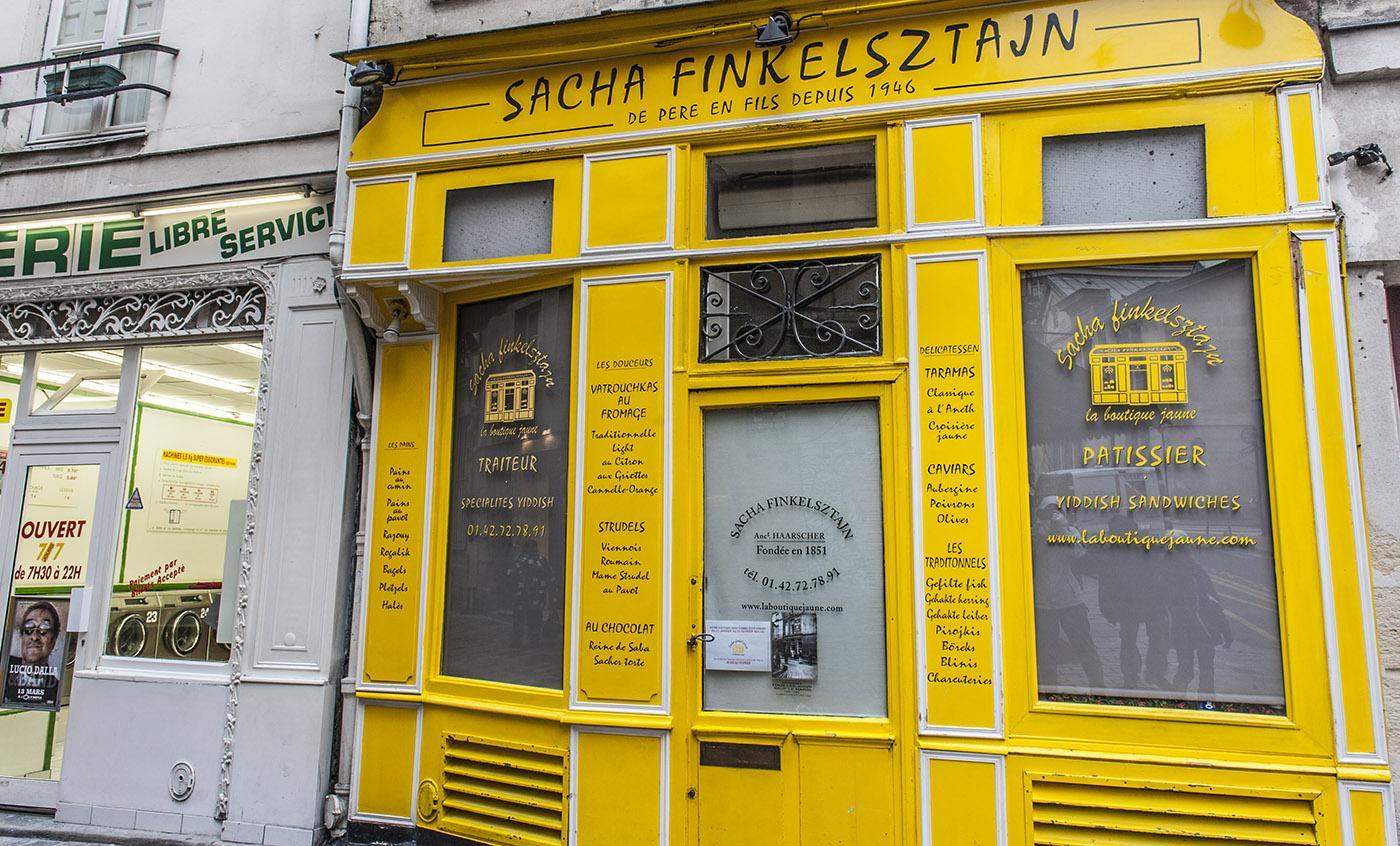 Die Bäckerei Finkelsztajn gehört zu den traditionsreichesten jüdische Geschäften der Rue de Rosiers. Foto: Hilke Maunder