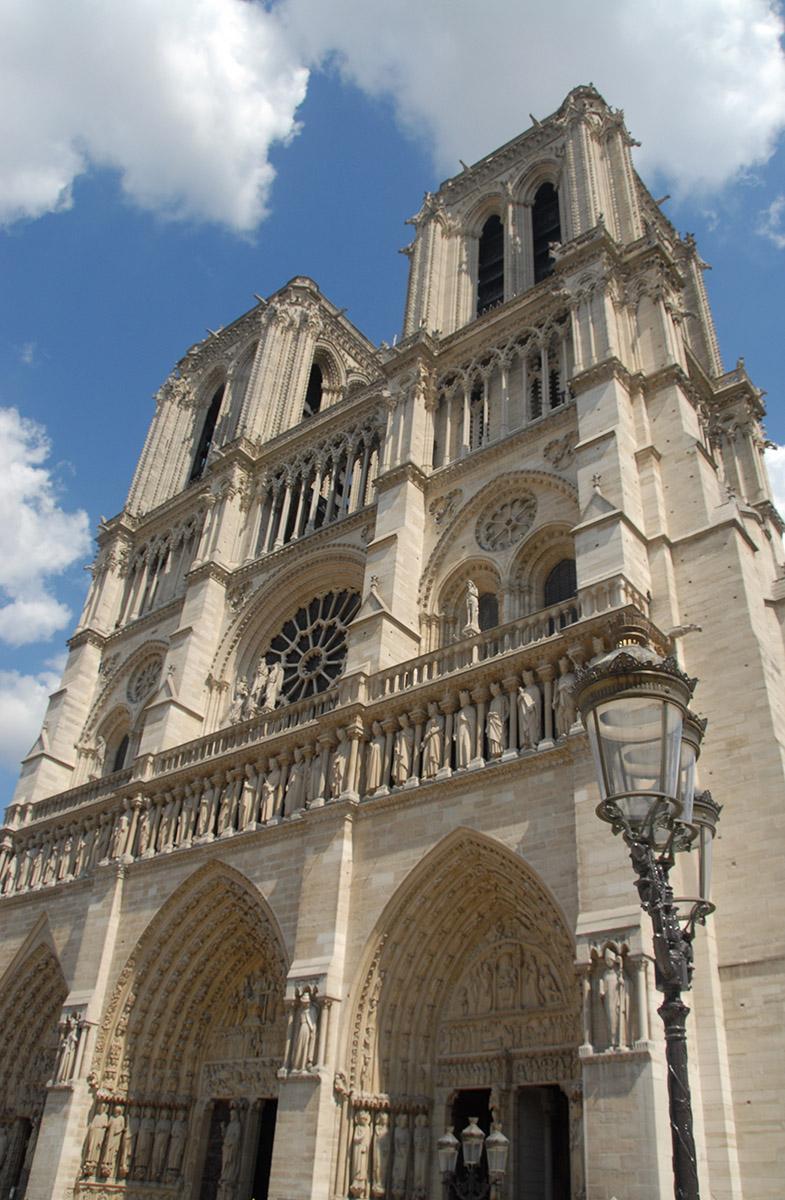Notre-Dame de Paris: die Westfassade. Foto: Hilke Maunder