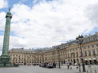 Ein königlicher Platz: die Place Vendôme von Paris. Foto: Hilke Maunder