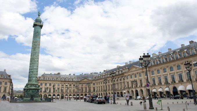 Königliche Plätze In Paris Place Vendôme Mein Frankreich