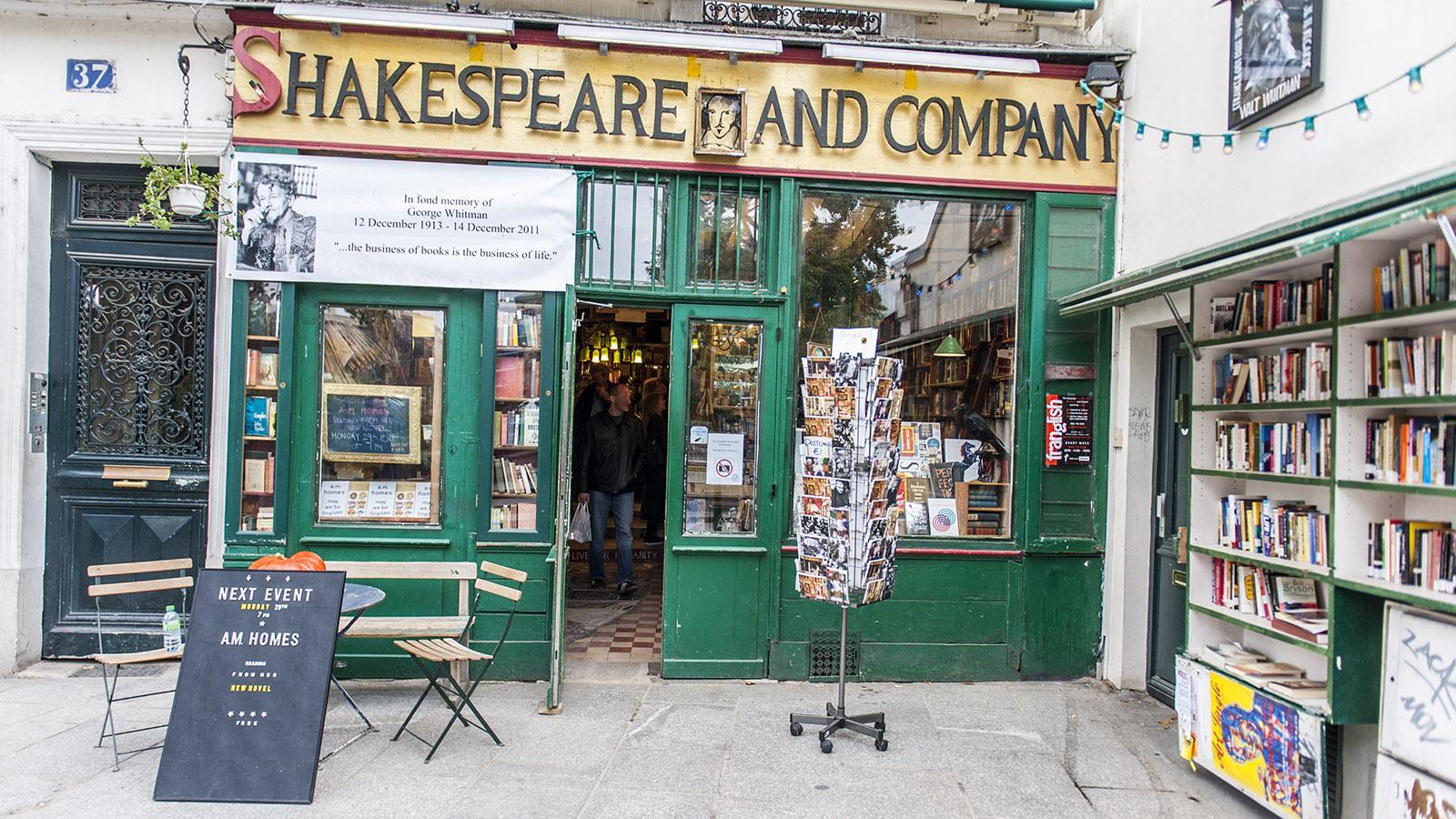 Kultladen für Leseratten: Shakespeare and Company. Foto: Hilke Maunder